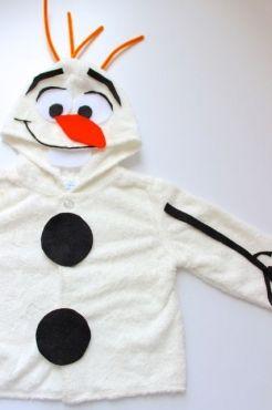 ¡Haz tu propio disfraz de OLAF y sin coser! | Blog de BabyCenter
