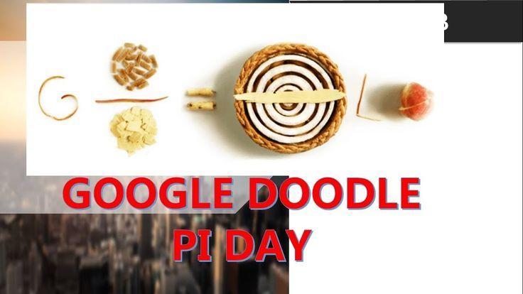 Google Doodle Pi Day Ulang Tahun Simbol Pi Matematika Yang Ke 30