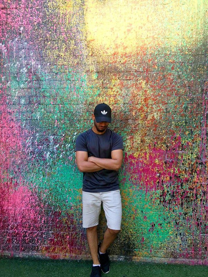 Sahil Mishra - Adidas Trucker Cap, H&M Shorts - Work Hard Play Hard