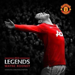 Wayne Mark Rooney  Man united
