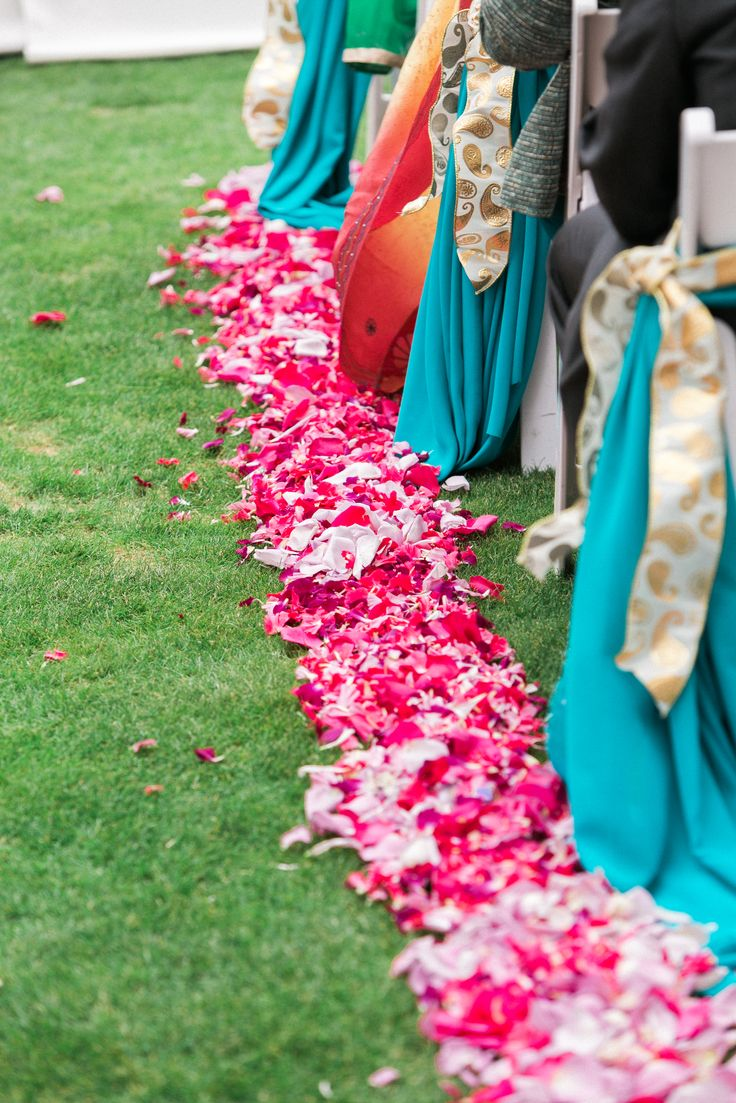 Along the path to the mandap.