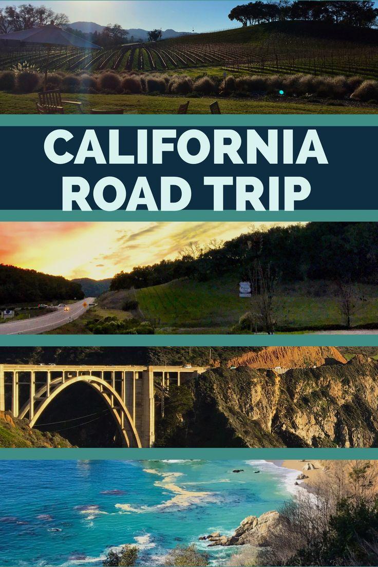 Interactive Map Usa Road Trip%0A A California Road Trip Itinerary