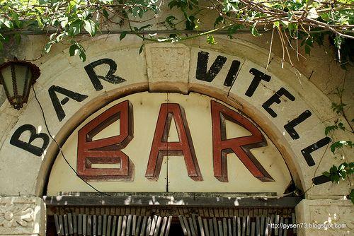 "The bar from ""Godfather I"", Savoca"