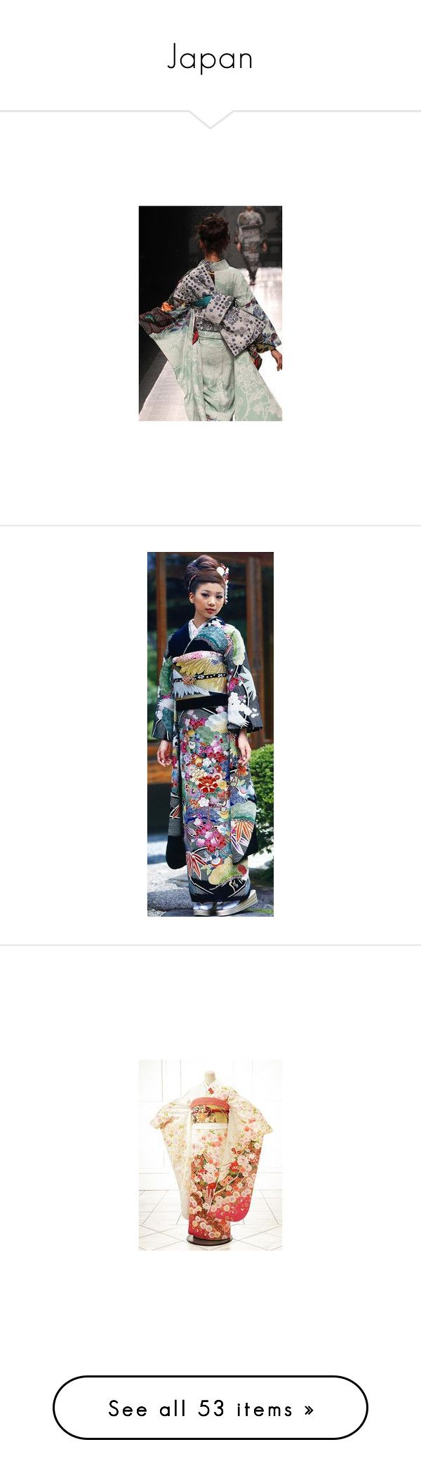 """Japan"" by floriane97 ❤ liked on Polyvore featuring kimono bathrobe, dressing gown, petite bathrobes, kimono dressing gown, kimono robe, intimates, robes, kimono bath robe, robe kimono and bath robes"