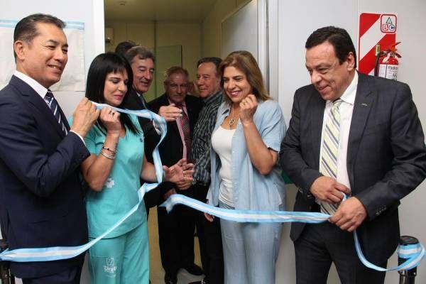 Inauguración del mamógrafo en el Hospital Municipal