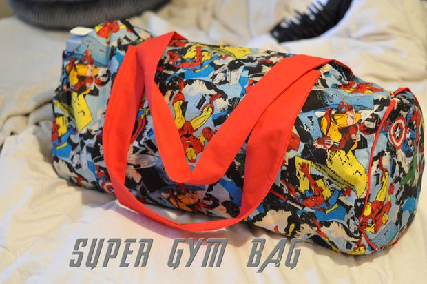 Picture of SUPER! Gym Bag