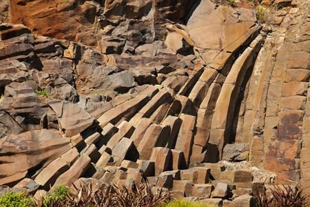 Unusual Rock Formations, Marine Terrace, Burnie, Northern Tasmania