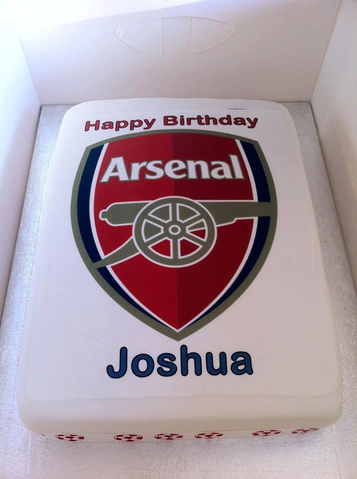 31 best custom arsenal cakes and cup cakes images on Pinterest