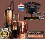 Moonshine Still for Sale 50 Gallon Traditional Copper