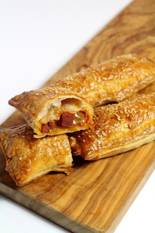 Chorizo saucijzen broodjes