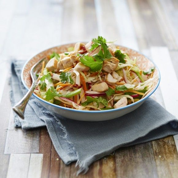 ZOOSH+Light+Lunch+Chicken+and+Mango+Coleslaw+Salad