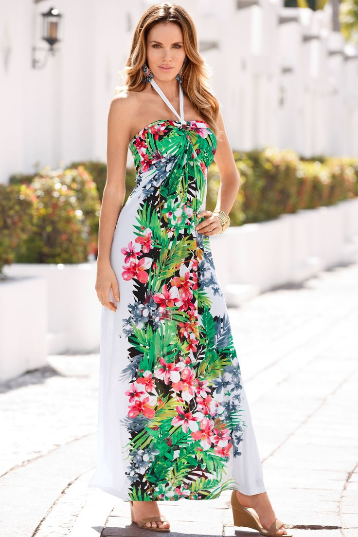 Knotted maxi dress boston proper