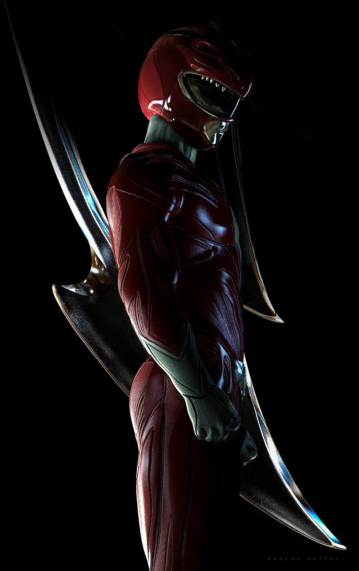 Red Ranger by CarlosDattoliArt.deviantart.com on @DeviantArt