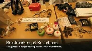 Årets første bruktmarked. Trykk på bildet for å se video!