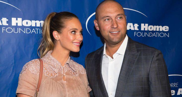 Derek Jeter's Wife Hannah Davis Announces Pregnancy #DerekJeter, #HannahJeter, #Pregnant #celebritynews celebrityinsider.org #Sports #celebrityinsider #celebrities #celebrity #rumors #gossip