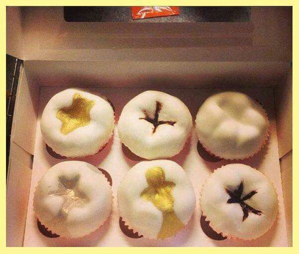Do you see any caries on these tooth cupcakes? ;)