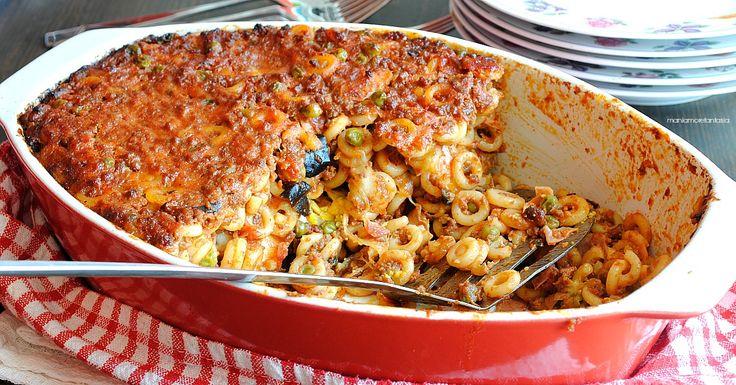 Pasta+al+forno+siciliana,+gli+anelletti!