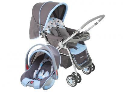 Carrinho de Bebê e Berço Passeio Cosco Travel - System Reverse p/ Crianças até 15kg com as melhores condições você encontra no Magazine Siarra. Confira!