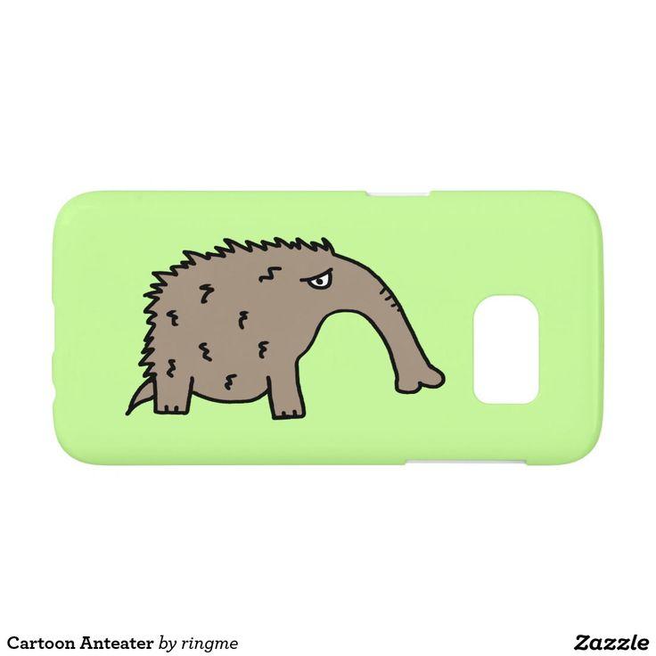 Cartoon Anteater Samsung Galaxy S7 Case