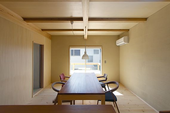 I works satoshi irei buildings spaces 4 pinterest for Living room of satoshi