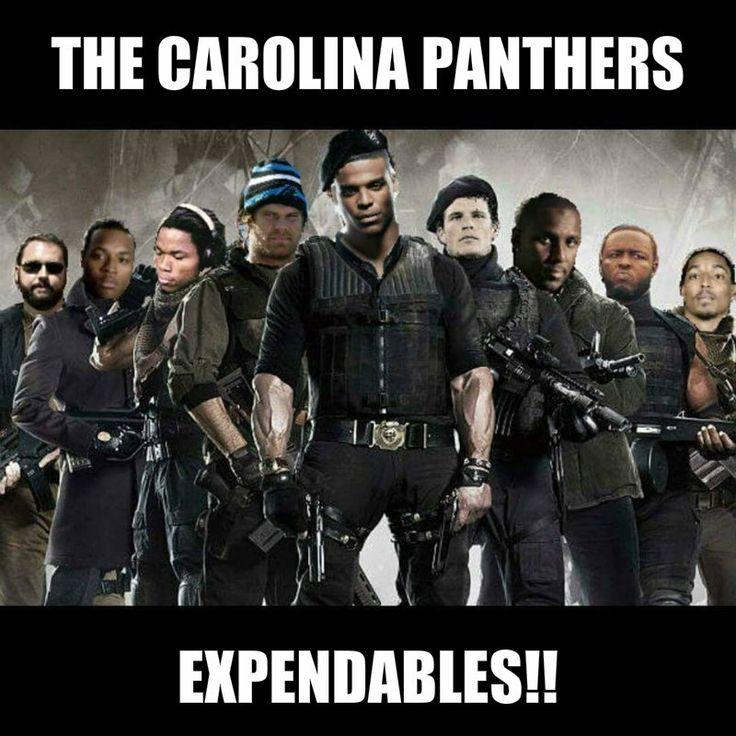 Carolina Panthers Expendables