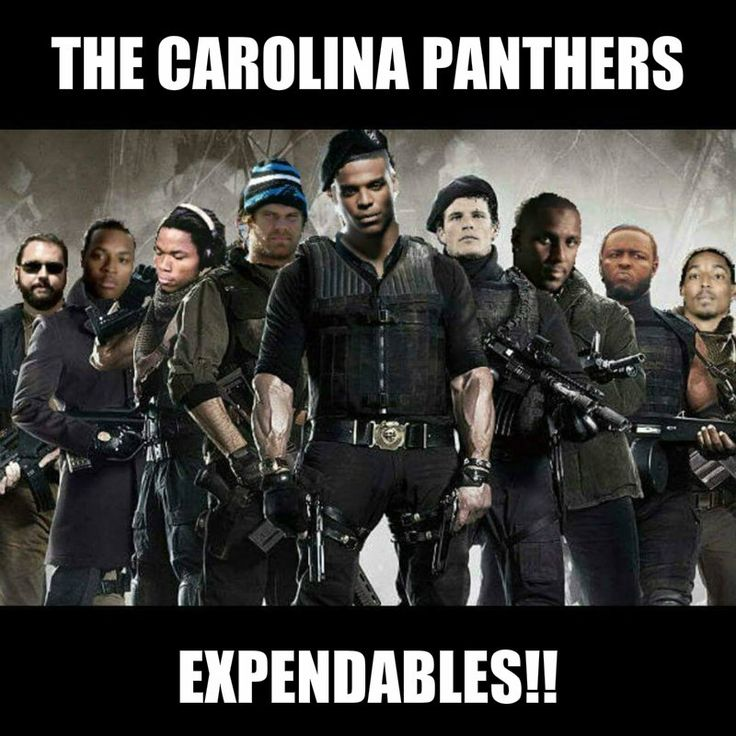 Carolina Panthers Expendables