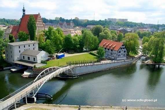 Wyspa Młyńska w Bydgoszczy na My Tourist
