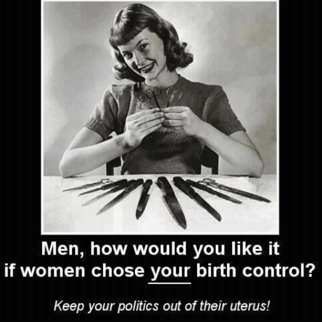 Keep your politics out of my uterus...