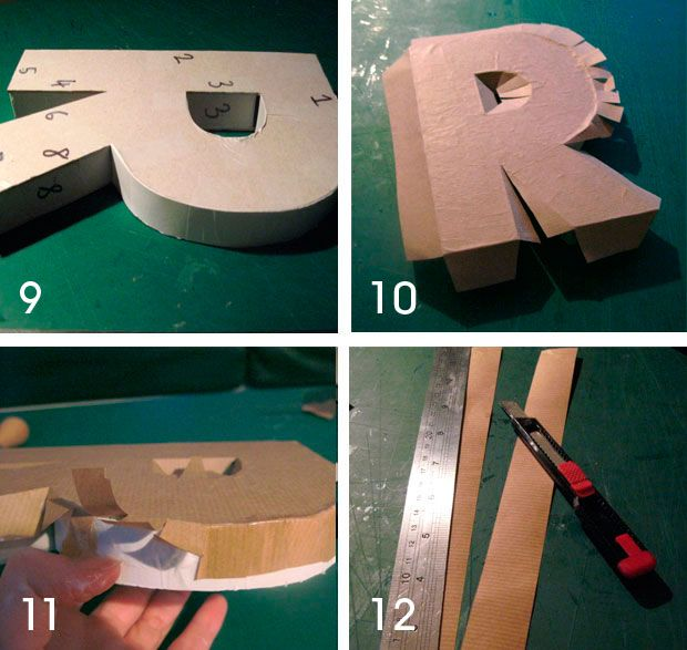 Happy Friday everyone! So how about a nice little diy for the weekend. This time it's for those ever-so-fashionable cardboard letters, except when you make them yourself you get to chose what…