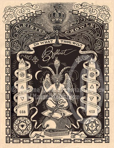 symbols of the occult | ... focus of occult activities and a representation of the devil himself