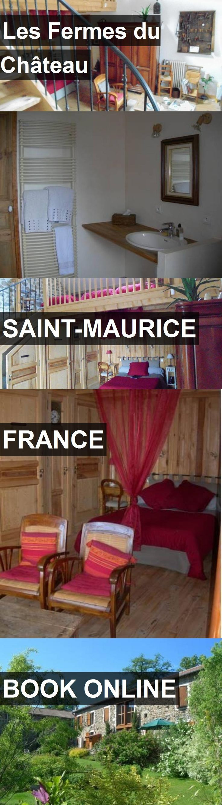 Hotel Les Fermes du Château in Saint-Maurice, France. For more information, photos, reviews and best prices please follow the link. #France #Saint-Maurice #LesFermesduChâteau #hotel #travel #vacation