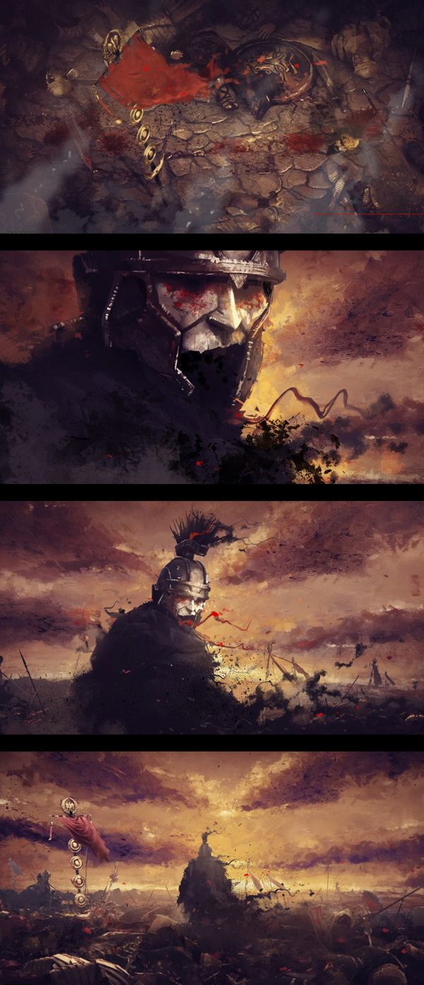 Ryse: Son of Rome by Platige Image , via Behance