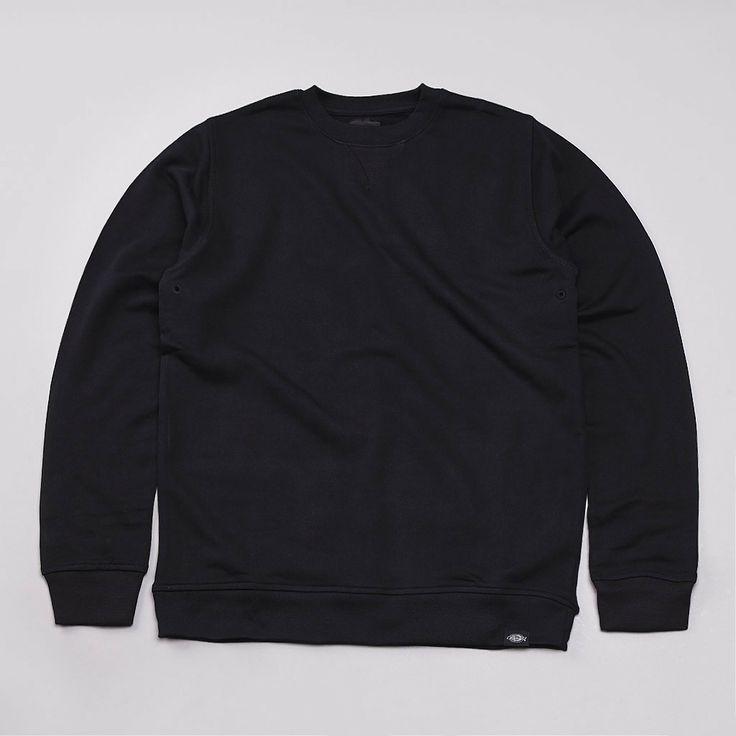 Flatspot - Dickies Washington Crewneck Sweatshirt Black