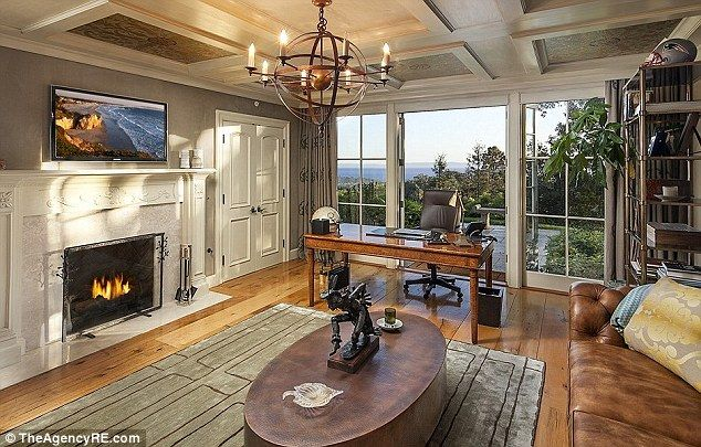 On the market: According to reports, the nearly 3-acre gated property was recently listed ...