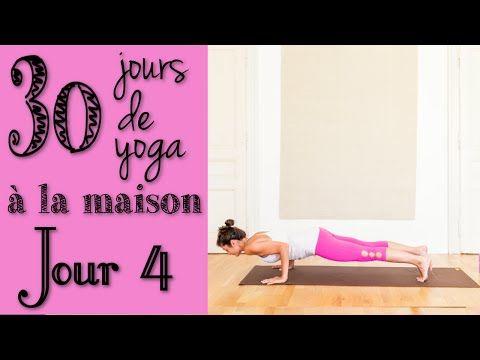Défi Yoga - Jour 4 - Renforcement du centre du corps - YouTube