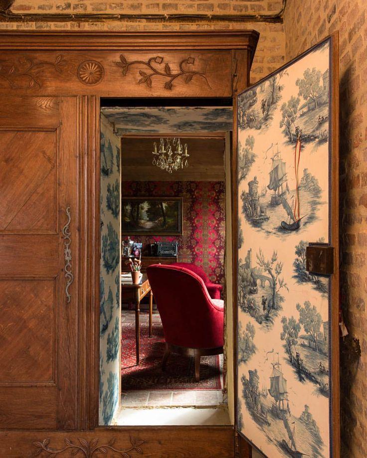 Old World secret door