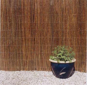 Weidenzaun 150cm x 500 cm Weiden-matte Sichtschutz