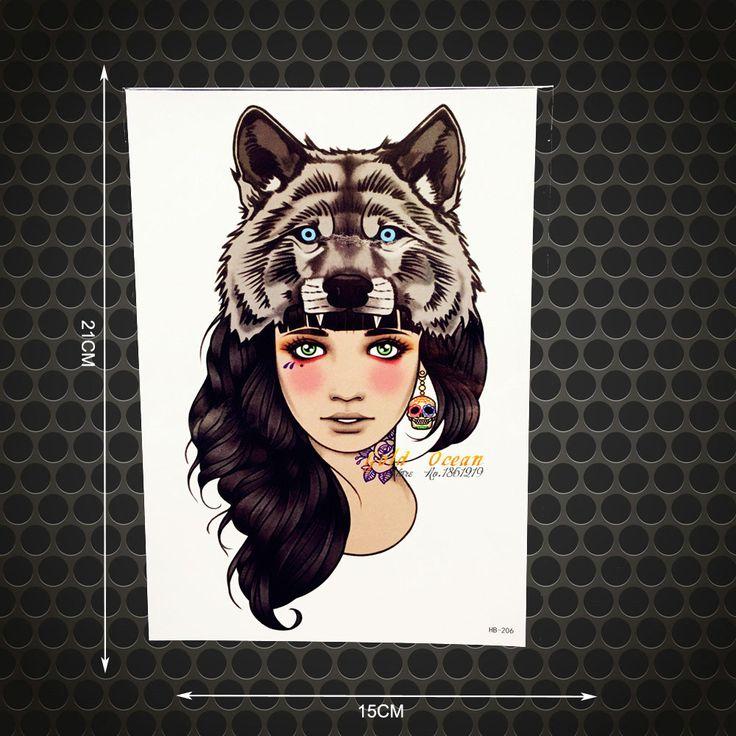 Wolf Woman Tattoo By Sergey Shanko: Best 25+ Wolf Girl Tattoos Ideas Only On Pinterest