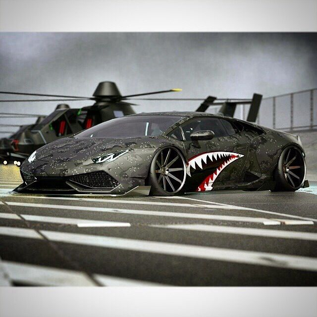 KSK luxury as a way of life⊱✿⊰Luxury ||Lamborghini Huracan #shark Mais