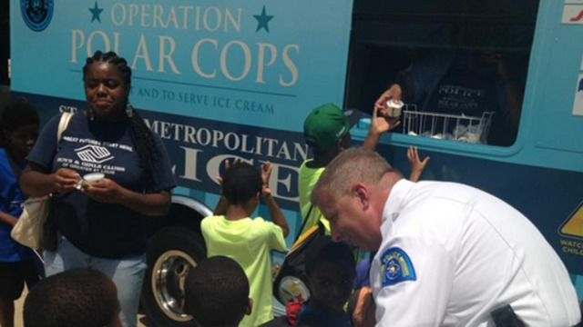 COMMAND/HQ Ice Cream Truck Connects Police and Kids  The St. Louis Police Department began its agency-operated ice cream truck initiative called Operation Polar Cops at the Boys & Girls Clubs of Greater St. Louis on Tuesday.