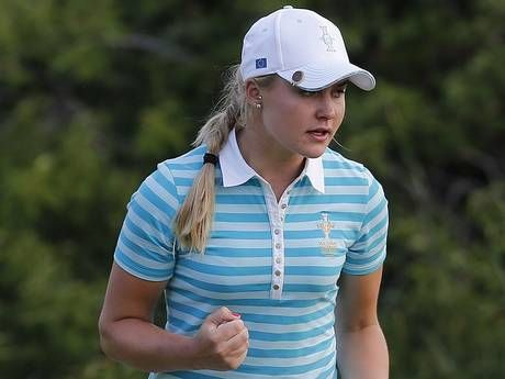 "Charley Hull at age 17 knocks our socks off! Her amazing golf is just the start. Her maturity, perspective and class made me a huge fan. ""I'm not going to die if I hit a bad shot. Just hit it, find it, and hit it again."""