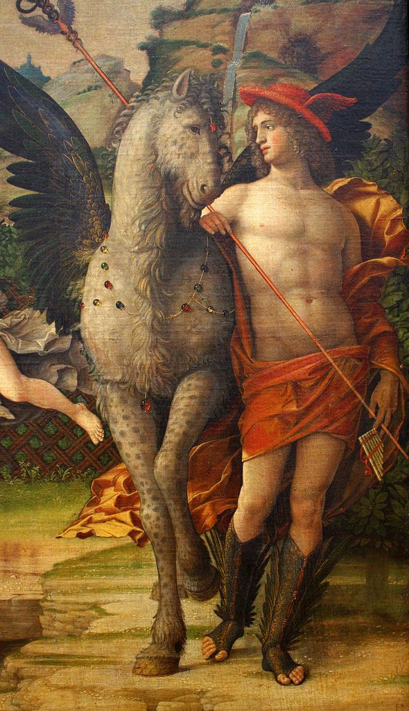 Andrea Mantegna, Mars and Venus (Parnassus)