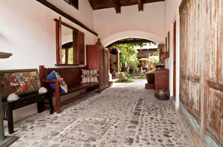 Casa estilo colonial Antigua Guatemala Casas e Ideas Pinterest