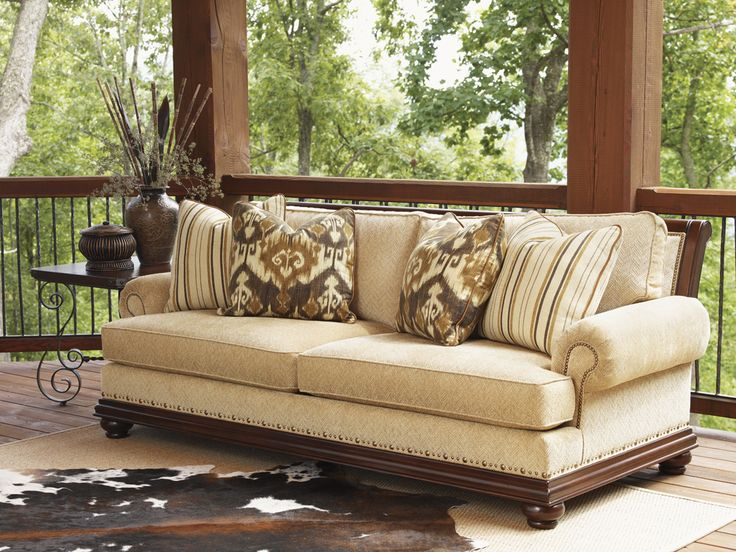 Traditional Fabric Sofa   Lexington Home Brands Furniture