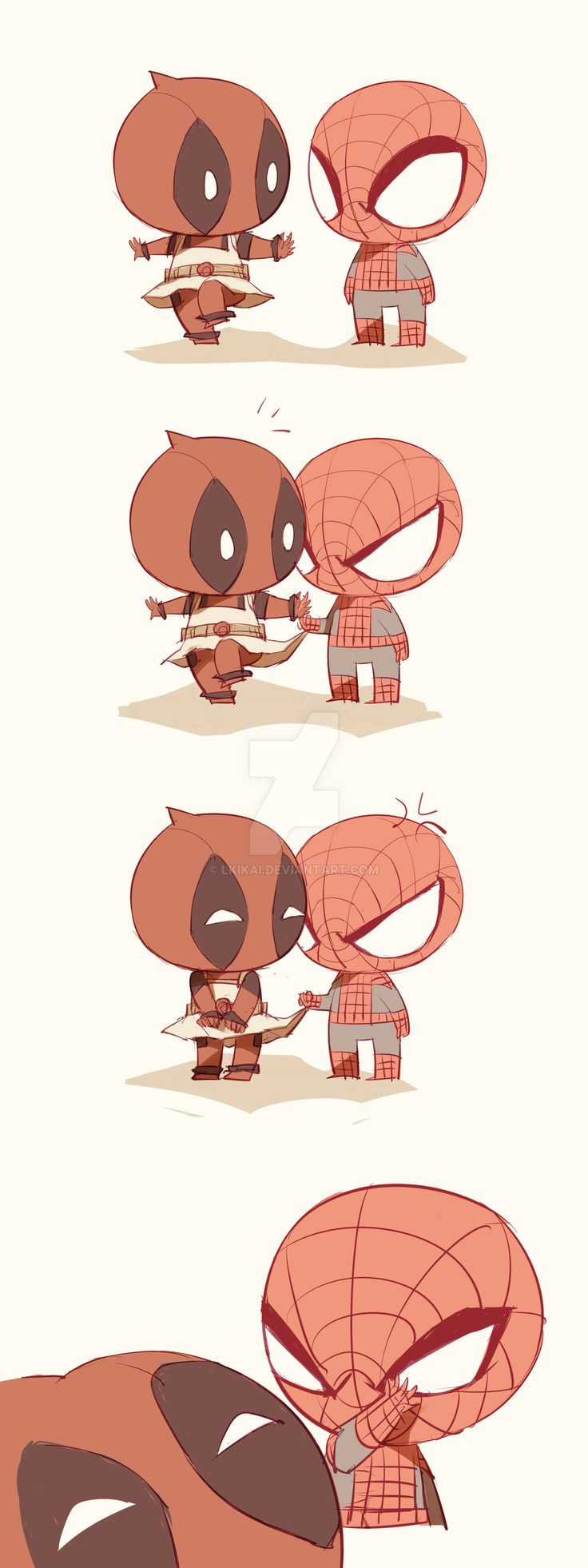 Spideypool136 by LKiKAi.deviantart.com on @DeviantArt