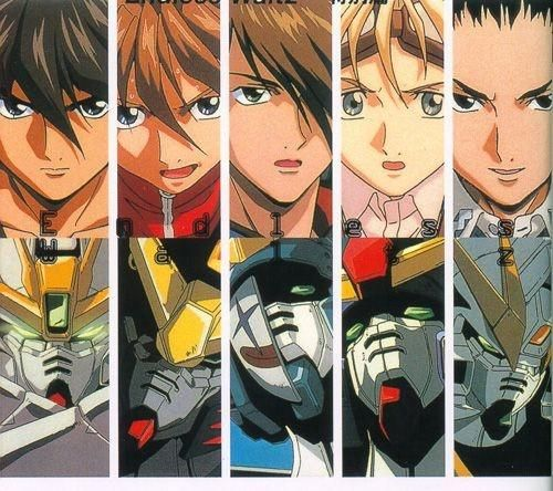 Gundam Wings Boys