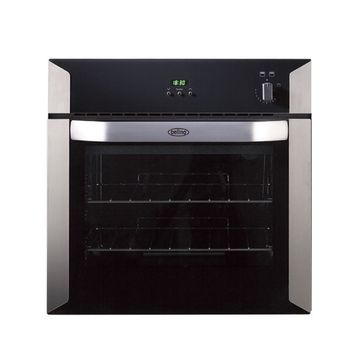 Delightful Built In Single Gas Oven Part - 9: Well Rated (with Electric Timer) Belling Electric Single Oven Built In  Stainless Steel