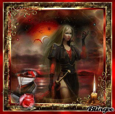 Fantasy in red