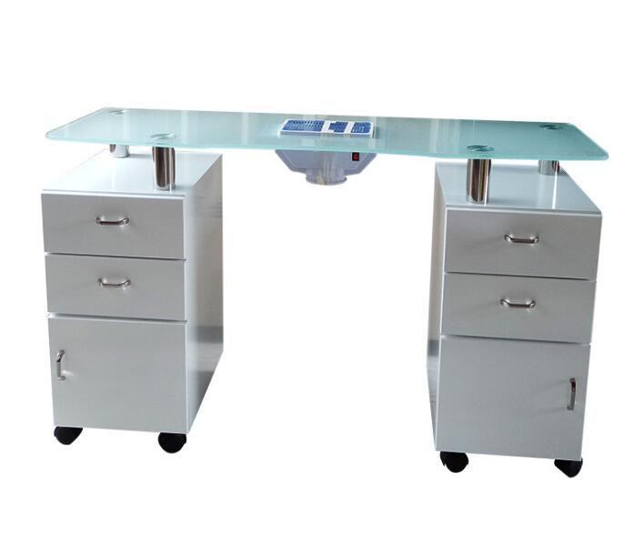 Wholesale Nail Technician Desk Spa Manicure Table Station With Dust Collector Beauty Spa Equipment Hair Salon Furniture Manufa Manicure Table Spa Manicure Desk
