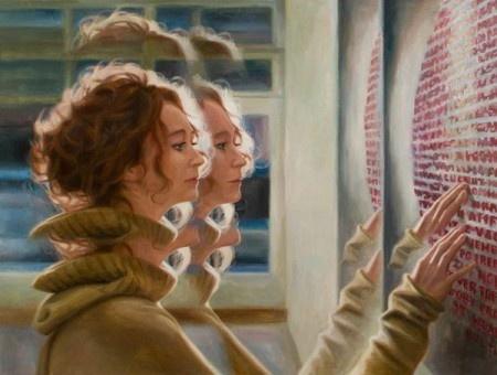 У каждого художника-портретиста свой способ самовыражения. Талантливый берлинский художник Динеш Гицци тоже не исключение. Его полотна удивляют какой-то исключительной таинственностью и «двойственностью», в прямом смысле слова. Внешний облик, по словам самого художника, для него не есть главное.